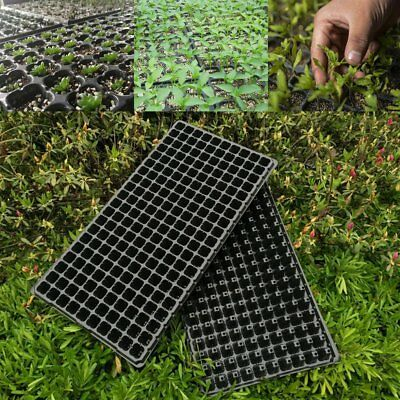 5 Pack 200 Cell Seedling Starter Trays For Seed Germination Plant Propagation