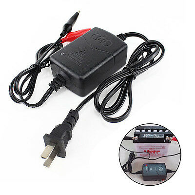 12V Smart Compact Battery Charger Tender Maintainer NEW Fr Car Truck Motorcycle