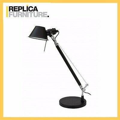 REPLICA FURNITURE Replica Black Tolomeo Desk Lamp - 1 arm