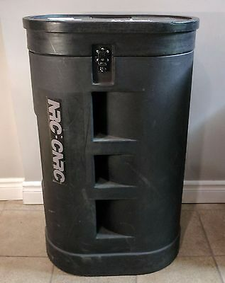 Industrial Grade Carry Hard Music Case Luggage w/ Wheels 38' X 23.5' X 15.5'