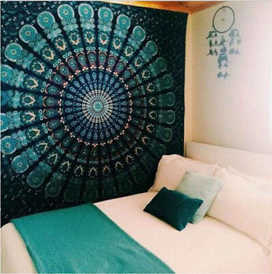 Gypsy 210cm Large Indian Tapestry Wall Hanging Hippie Elephant Bedspread 2017