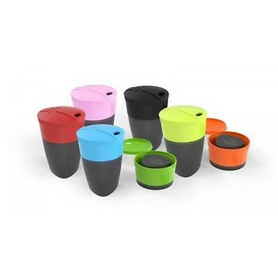 LIGHT MY FIRE Pack-up-Cup Drink Carry Container Liquid Holder Collapsible