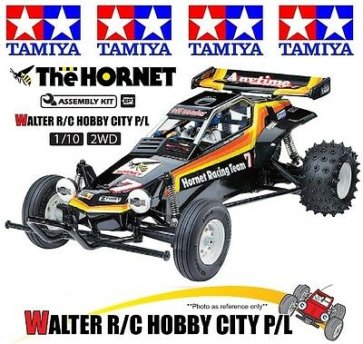 TAMIYA The Hornet 1/10 2WD Off Road Buggy Assembly kit No ESC 58336