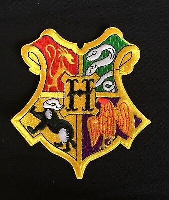 Hogwarts Xxl Harry Potter Wizard School Crest.diy Cloak Iron Patch.book Costume