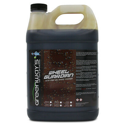 Non acid wheel and tire cleaner safe for all finishes