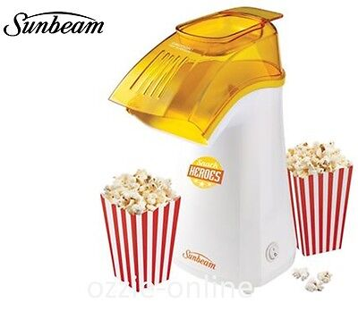 Popcorn Machine Sunbeam Electric Pop Corn Maker 12 Cup Home Popcorn Cooker