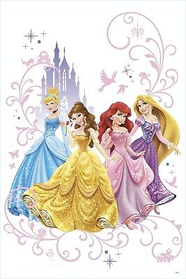 RoomMates RMK2799TB Disney Princess Wall Graphix Peel and Stick Giant Wall Decal