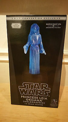 SDCC 2017 Gentle Giant Exclusive Princess Leia Organa Holographic 1:8 scale