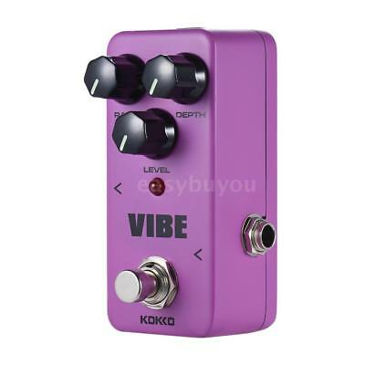 KOKKO VIBE Analog Rotary Speaker Electric Guitar Effect Pedal True Bypass H9M8
