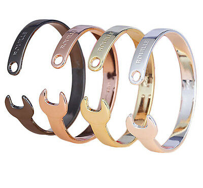 Spanner Bangle Solid Wrench Motorcycle Classical Jewelry