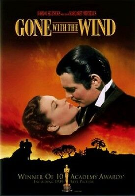 Gone with the Wind (1939) - Vivien Leigh DVD *NEW [DISC ONLY]