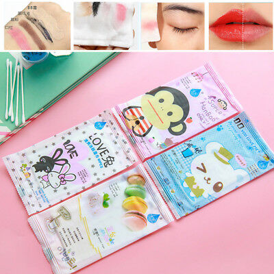 10x Disposable Face Remover Wipes Pad Towelettes Make Up Remover Cleansing New