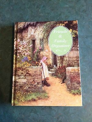 Friends and Family Organiser: Address Book, with artwork by Helen Allingham