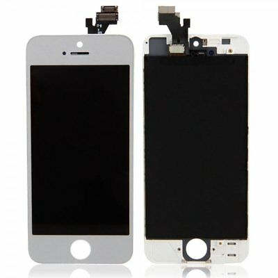 New Replacement Touch Screen LCD Digitizer Assembly For iPhone 5 White+Tools kit