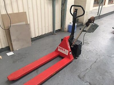 Used Logitrans  · Electric High Lift Pallet Truck