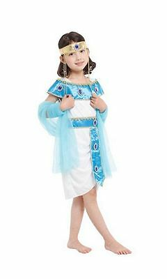 Girls Egyptian Queen Child Kids Dress Costume Cleopatra Book Week 3-9 Years