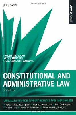 Law Express: Constitutional and Administrative Law (Revision Guide) By Chris Ta
