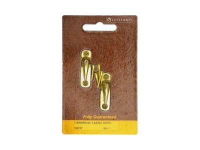 40mm PB Victorian Tassel Hook (Pack of 2) - 5 pack(s) of 2 - Packed CW19P