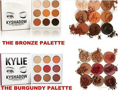 Kylie Jenner Sombra de Ojos Kyshadow, THE BURGUNDY & THE BRONZE palette