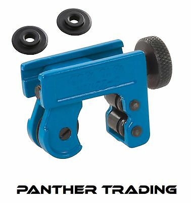 Silverline Mini Tube Cutter Capacity 3 - 22mm / Replacement Wheels 4.5 x 18mm