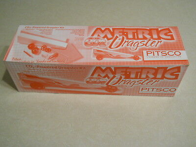 Metric Dragster Kit ~ Co2 Dragster ~ Brand New In The Box