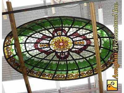 Stained Glass Dome #4480b