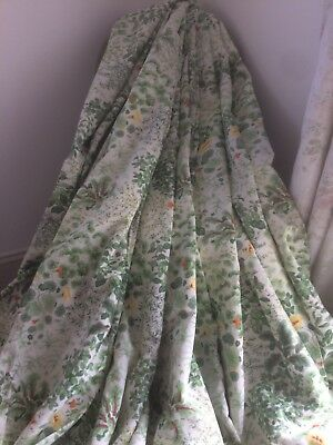 Super Wide Laura Ashley Living Wall Curtains - Hedgerow (Blackout Lined)