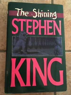 THE SHINING *Stephen King (1977) HB/DJ *LIMITED SPECIAL EDITION (RARE COVER ART)