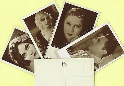 IRIS VERLAG (Austria) - 1920s Film Star Postcard/s #5379 to #5574 [Cinema/Movie]