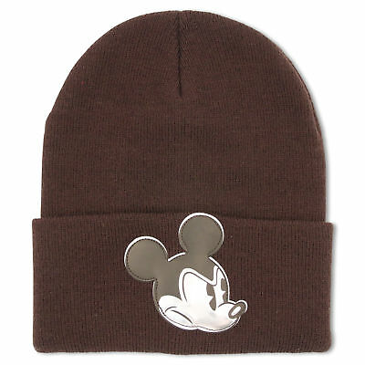 Disney Mickey Mouse Character Cold Weather Beanie Hat, Big Boys, 8-18