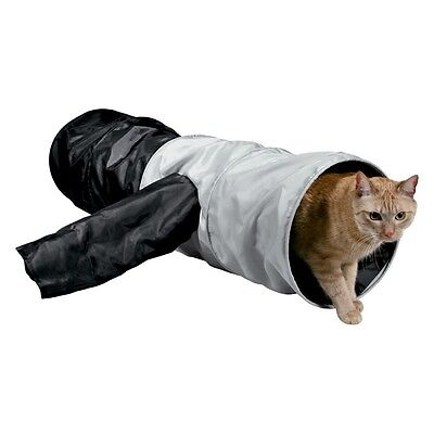 Cat Tunnel Rustle Play Hide XXL Large Stimulating Hide Curiosity Fun Side Chute