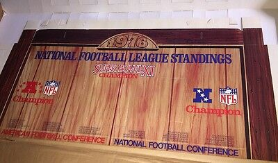 CANADA DRY National Football League Board Can Holder Advertising Soda New 1976