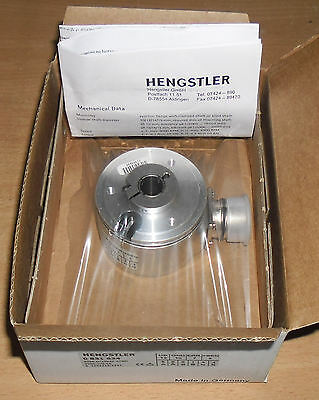 Hengstler Rotary Encoder 0531634, to fit 12mm diameter shaft