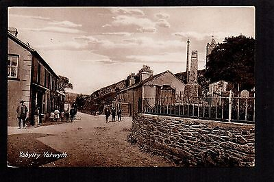 Ysbytty Ystwyth - printed photographic postcard