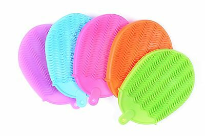 Silicone Bath & Shower Exfoliating Massage Body Skin Scrubber  Sponge TSAR