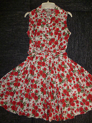 Maggie Tang 50er 60er Rockabilly Abendkleid Cocktail Kleid  Gr,40/42 superschön