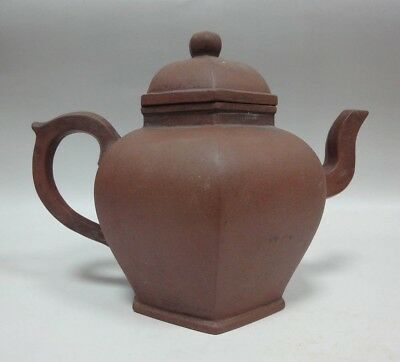 """Very Rare Old Chinese Zisha Pottery Teapot Collection """"ChenGuangMing"""" QA078"""