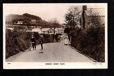 Achddu, Burry Port - real photographic postcard
