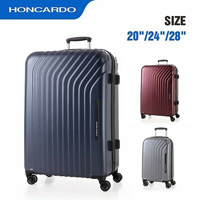 Travel Suitcase Spinner Wheels Trolley TSA Lock Luggage Carry on Bag  Hardside