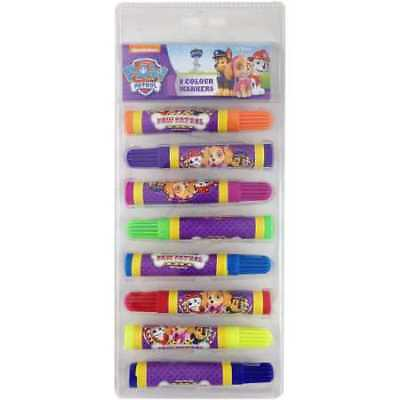 Paw Patrol Marker   8 Pack