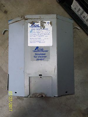 ACME T-2-53515-3S 7.5Kva 1Ph 240/480 X 120/240 Current Transformer