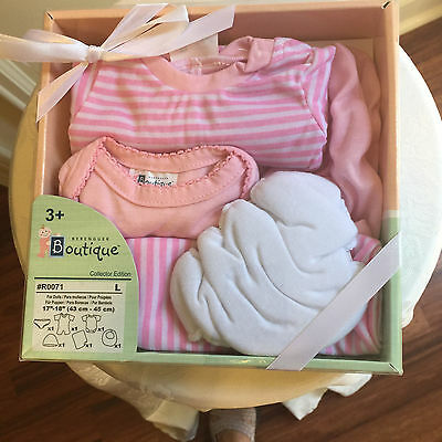 "Berenguer Boutique Collector Edition 6-piece PINK Set for 17""-18"" Doll NIP"