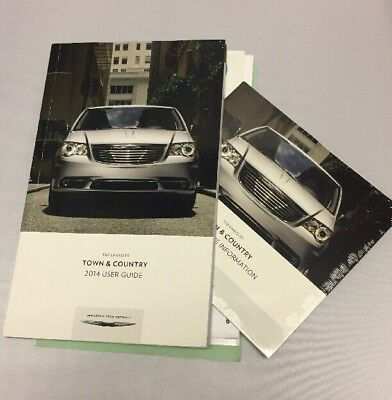 2014 town and country manual