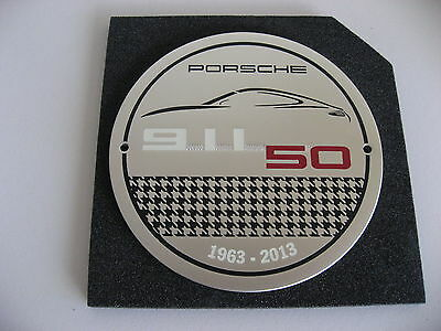 PORSCHE OFFICIAL FACTORY 911 50th Anniversary GRILL BADGE