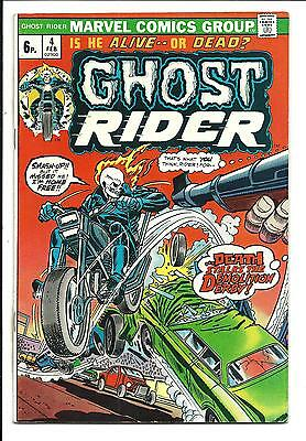 GHOST RIDER (Vol.1) # 4 (FEB 1974), FN+
