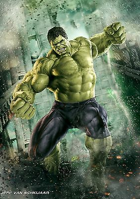 THE HULK POSTER Marvel Avengers Infinity War Wall Art Photo Print Poster A4 A3