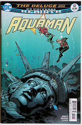 Aquaman 12 Rebirth Vol 8 DC Comics Dan Abnett Phillipe Briones