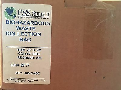 medical hazardous waste bags  Qty. 500 in a box