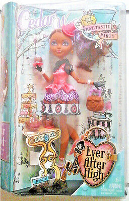 Ever After High Hat-Tastic Party Cedar Wood Doll   New  6+