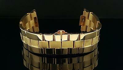 Genuine Cartier 18k Yellow Gold Roadster Chronograph Bracelet Only 20mm Original